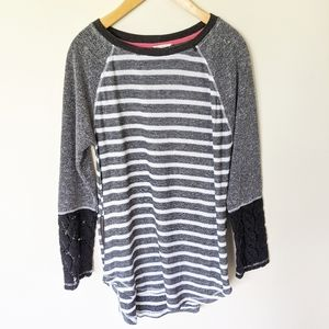 Mystree large sweater tunic